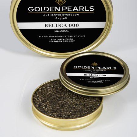 Caviar Beluga 000 - Golden Pearls Caviar
