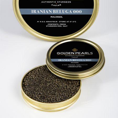 Caviar Iraní Beluga 000 - Golden Pearls Caviar